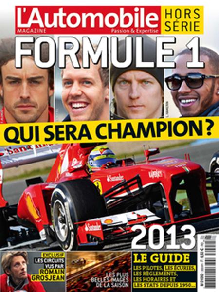 AUTOMOBILE MAGAZINE couverture special F1 2013