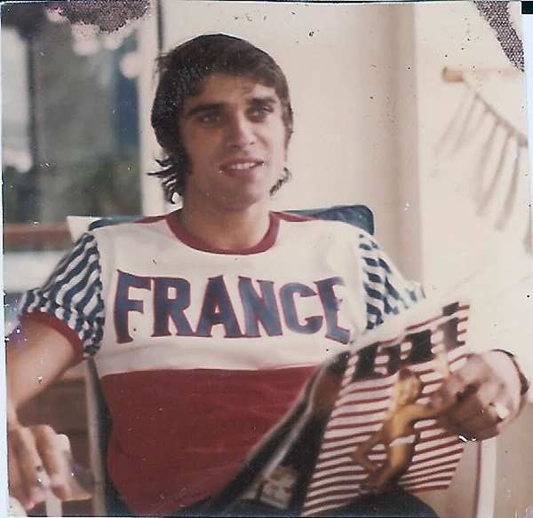 CEVERT-1973-ETE-François-à-St-Tropez.