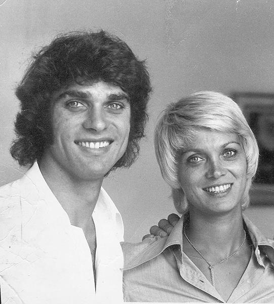 CEVERT 2 Septembre 1973. François et sa soeur la jolie Jacqueline