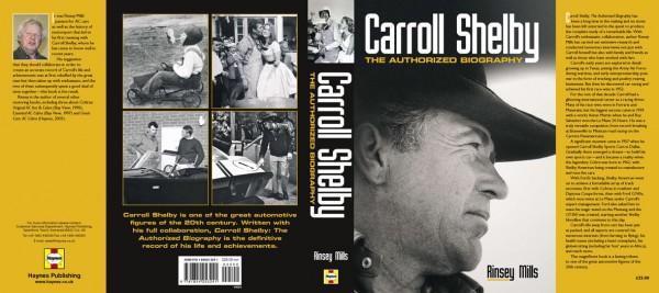 Carroll Shelby-The Authorized Biography La couverture du livre