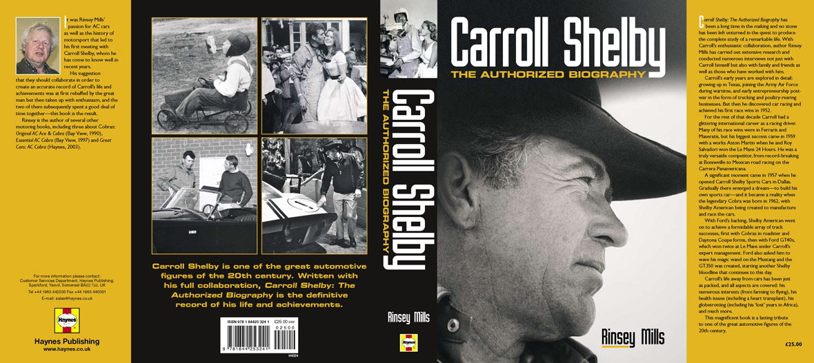 Carroll Shelby The Authorized Biography | Car Reviews 2018