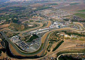 Circuit de Jerez vue aerienne