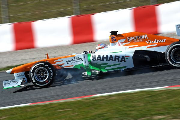 La FORCE INDIA de Paul di RESTA
