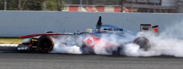 F1 2013 BARCELONE Test PEREZ MCLAREN deja la grosse attaque
