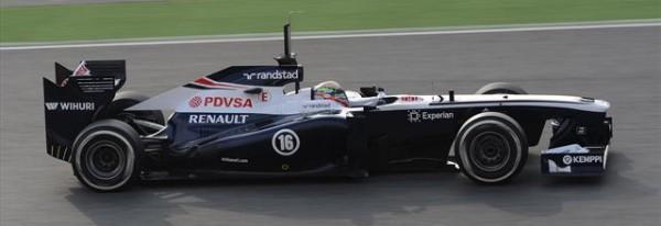 F1 2013 BARVCELONE test presentation nouvelle WILLIAMS
