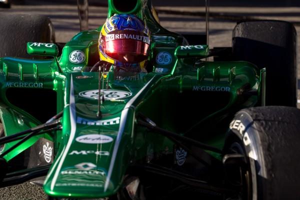 F1 2013 JEREZ TEST 7 Fevrier CATERHAM RENAULT PIC