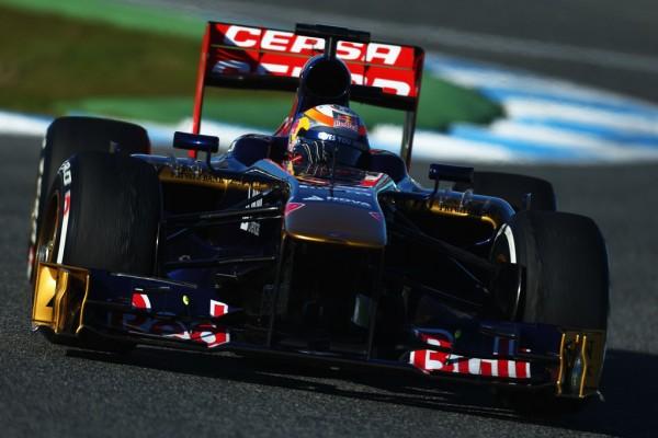 F1 2013 JEREZ TEST 7 Fevrier TORO ROSSO JEAN ERIC VERGNE