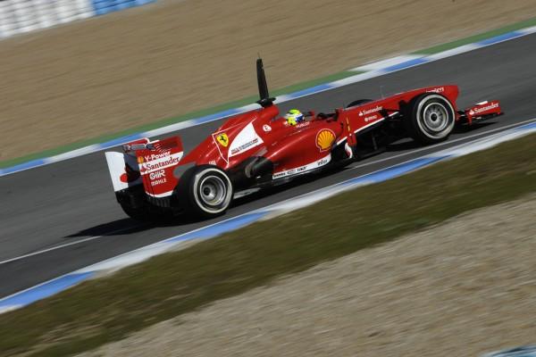 F1 2013 JEREZ test FERRARI MASSA