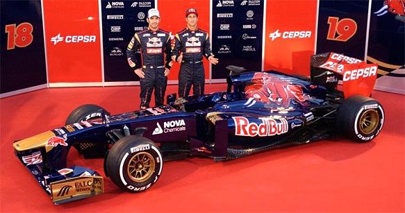 F1 2013 LA TORO ROSSO Presentation JEREZ 4 fevrier