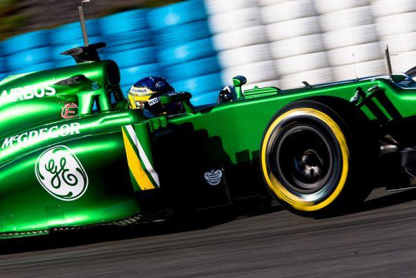F1 JEREZ 2013 TEST CATERHAM RENAULT CHARLES PIC 8 fev