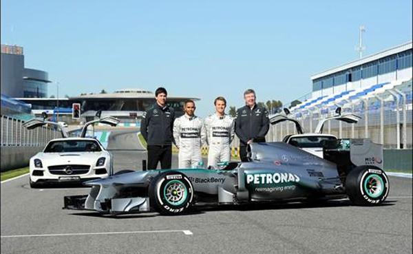 F1 TESTS JEREZ 2013