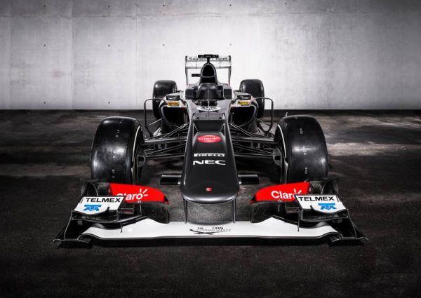 F1 SAUBER C32 2013 la Presentation 2 fevrier