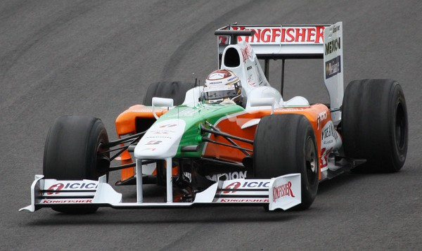 FORCE INDIA ADRIAN SUTIL