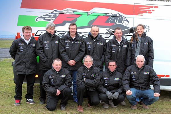Presentation du Team FYL le 22  fevrier au Domaine-de-GALICET-chez les WAMBERGUE. Photo Gilles VITRY autonewsinfo.com