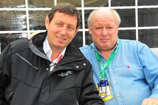 GERARD NEVEU DIRCTEUR DU Championnat du monde WEC et Gilles GAIGNAULT autonewsinfo