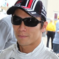 INDYCAR 2013 TAKUMA SATO portrait Team FOYT