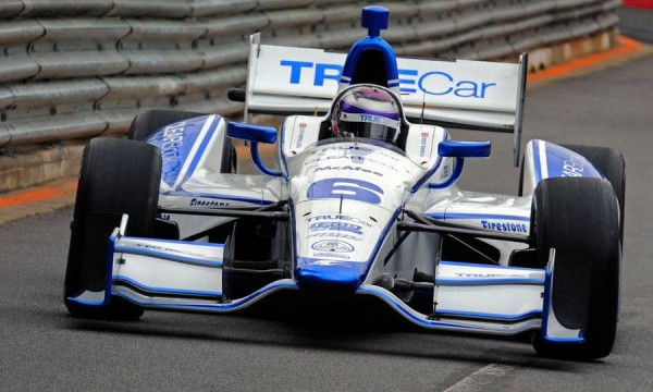 INDYCAR  Dallara Lotus Team Dragon Katherine Legge
