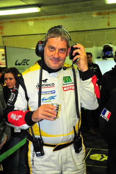 JACK LECONTE 24 HEURES DU MANS 2012 STAND LARBRE  Photo Claude MOLINIER autonewsinfo
