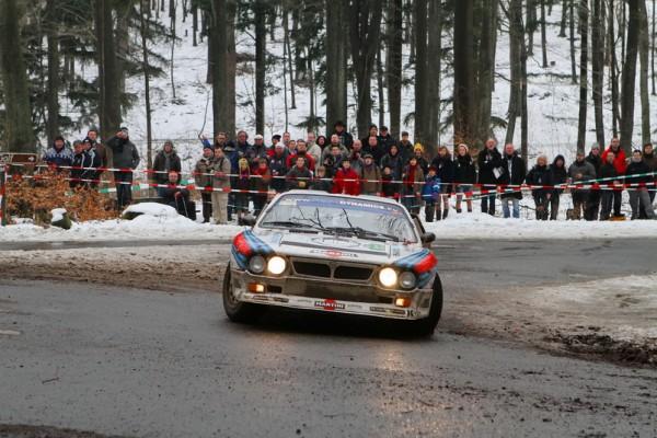 LEGENDS BOUCLES SPA 2013 Kelders-Prévot en action sur la très jolie Lancia Rally 037-© Manfred GIET