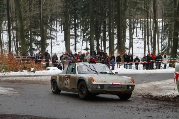 LEGENDS BOUCLES SPA 2013 La Porsche 914-6 des français Chantriaux classée 84èmes-© Manfred GIET