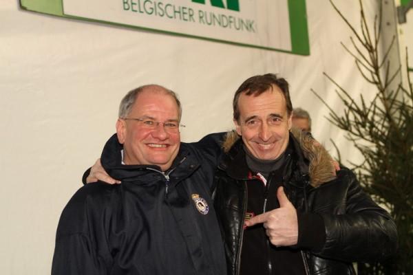 LEGENDS BOUCLES SPA 2013 Le directeur de course Pierre DELETTRE et Jean-Pierre VAN DE WAUWER le vainqueur 2012-© Manfred GIET