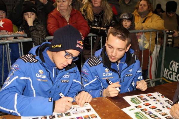 -LEGENDS BOUCLES SPA 2013 Thierry NEUVILLE- & Nicolas GILSOUL à la séance d'autographes-© Manfred GIET