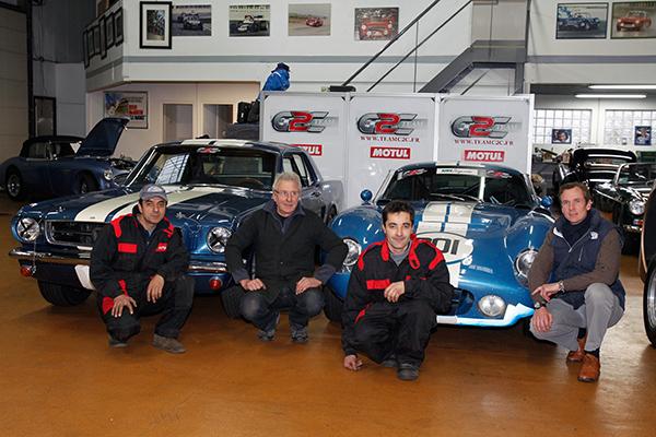 Ludovic CARON et son équipe de C2C