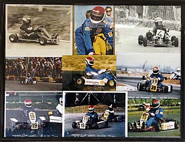 Souvenirs de ses débuts en karting
