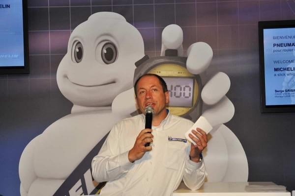 MICHELIN Serge-GRISIN-Conference-Michelin-photo autonewsinfo