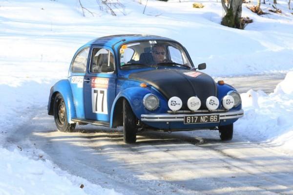 MONTE CARLO HISTORIQUE 2013 COX VW Num 77 Philippe GUILLEMAT  PHOTO Francois HAASE