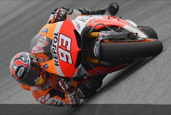 MOTO GP 2013 Marc Marquez Test