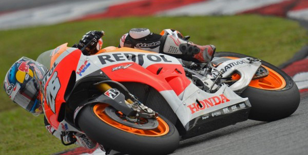 MOTO GP 2013 SEPANG 7 fevrier DANI PEDROSA (1)