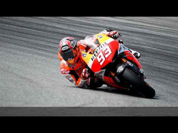 MOTO GP 2013 Test SEPANG MARQUEZ