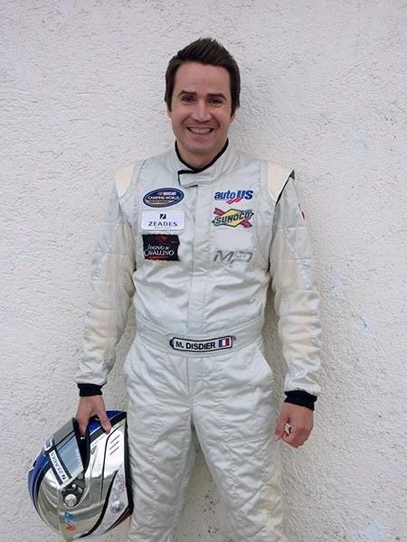 Michel DISDIER Portrait NASCAR 2013