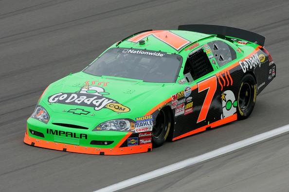NASCAR 2012 DANICA PATRICK A LAS VEGAS