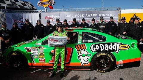 NASCAR 2013 DANICA PATRICK EN POLE A DAYTONA 500 Le 17 fevrier