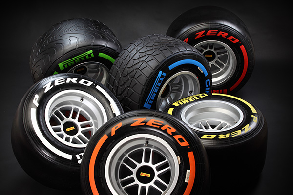 PIRELLI Pneus F1 Saison 2013 (1)