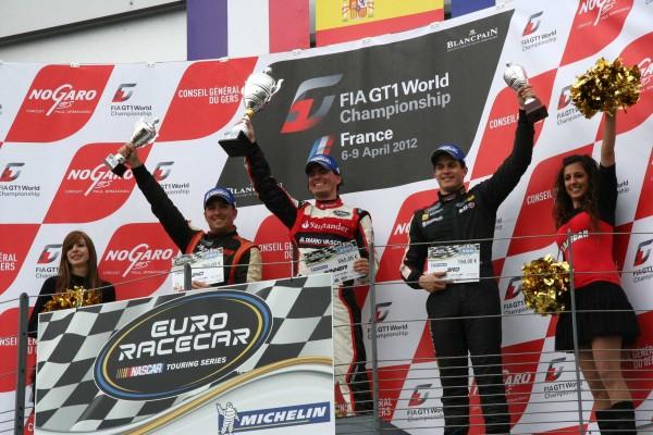 RACECAR-2012-NOGARO-Podium-course-1-VILARINO-THIEVIN-credit-Mag-Racing