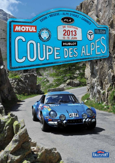 RALLYSTORY Affiche COUPE DES ALPES 2013