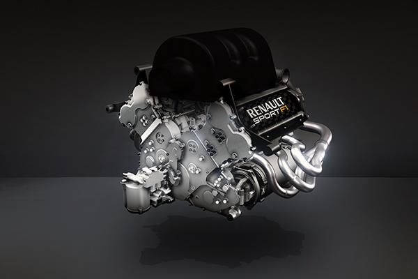 RENAULT F1 2013 Le moteur RENAULT V6 RS34 de 2014