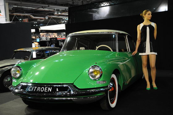 RETROMOBILE 2013 LA FAMEUSE DS CITROEN