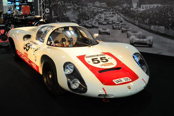 RETROMOBILE 2013 PORSCHE 910 du Team VANDROMME