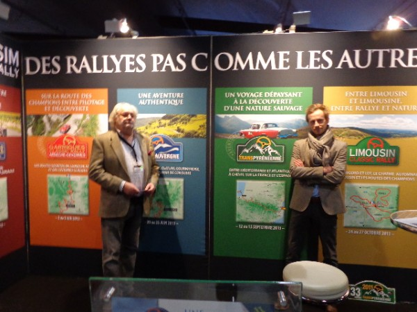 RETROMOBILE 2013 Stand Millesim Classic Rally de Patrick GUIDOUX