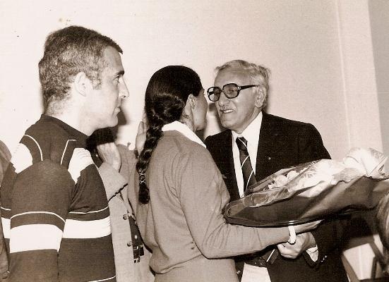 RGUY GOUTARD Ronde.Cevenole 1979 Remise des prix.Jean Claude Andruet et Michele Mouton ET Guy.Goutard