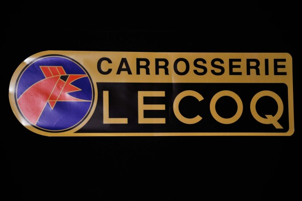Retromobile 2013 Plaque Stand LECOQ photo Jean Pierre PASCHE autonewsinfo