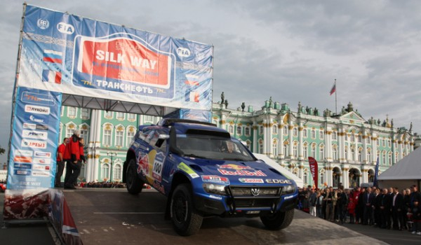 SILK WAY depart VW St Petersbourg
