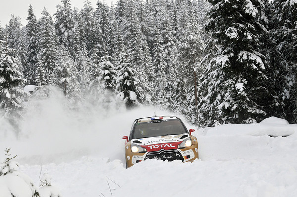SUEDE 2013 DS3 CITROEN SEB LOEB photo LILLINI