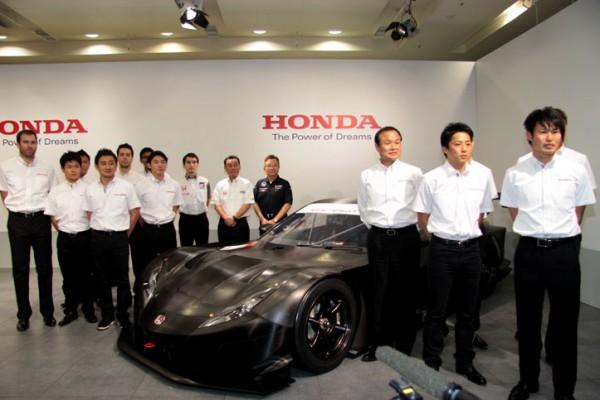 SUPER GT 500 2013 Présentation équipe HONDA et pilotes des Teams