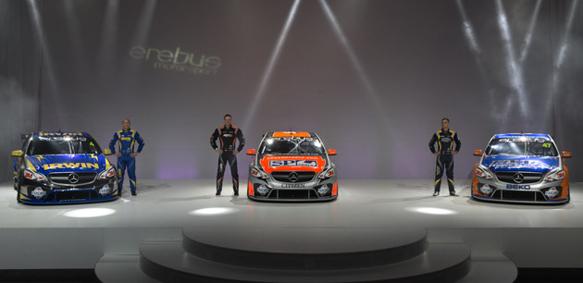 V8 SUPERCA 2013 Prsentation equipe MERCEDES EREBUS