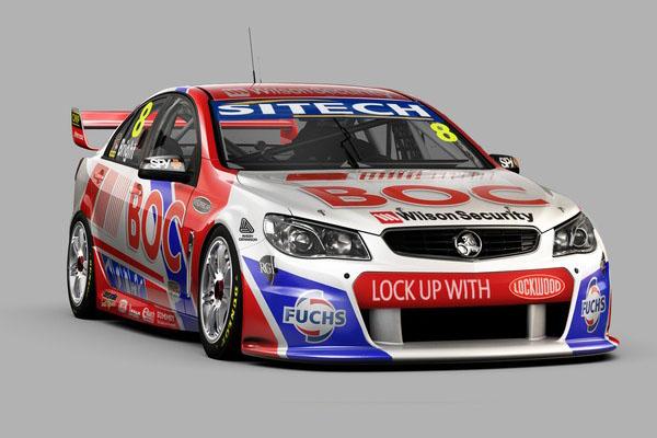 V8 SUPERCAR 2013 HOLDEN TEAM BJR